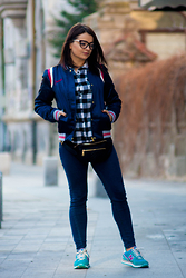 Kristina P. - Pull And Bear Jacket - College jacket