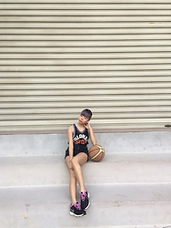 D R E A - Vexed Jersey Tank, Nike Sports Shoes - Basketball