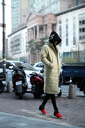 INWON LEE - Byther Coat, Adidas Y 3 By Yohji Shoes - Toward evening