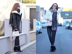 Rimanere Nella Memoria - Jeans Fritz Jacket, Picard Bag - Perfect Street Style