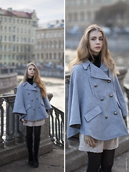 Anna Vershinina - Choies Coat - Petersburg Inside