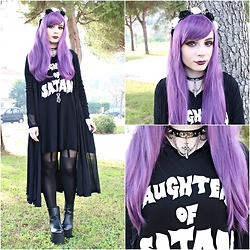 Federica D - Disturbia Daughter Of Satan Dress - Disturbia