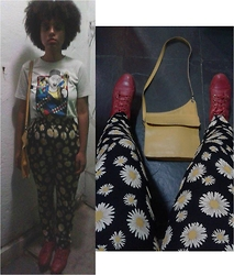 Barbara Maria - Renner Fresh Prince Of Bel Air Shirt, Lilaiya Pants, Sonho Dos Pés Red Boots, Cantão Second Hand Bag - Don't let the bells end