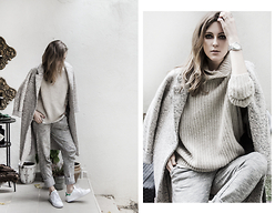 Katerina Kraynova - Zara Sweater, Zara Coat, Adidas Shoes, Asos Pants - TEXTURED