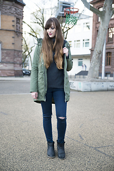Andrea Funk / andysparkles.de - Adidas Neo Parka, Armedangels Turtleneck, Emu Boots - The Perfect Turtleneck