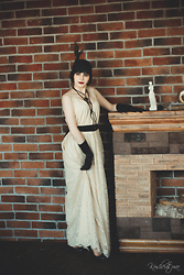 Polina Whale - Vintage Dress - A silent film