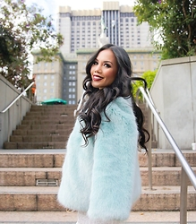 Rachel Vogt - Zara Fur Coat, My Blog - Fur coat