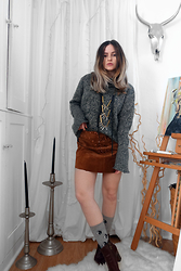 Anda Brea - Find On Blog - GRAY + BROWN
