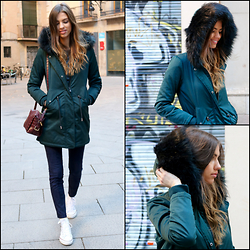 Theblogness.com -  - EMERALD GREEN PARKA