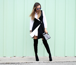 Queen Horsfall - Trendhood, Forever 21, Forever 21, Public Desire, Nina Shoes - Chic in Black and White