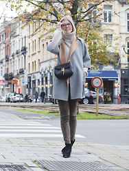 Valerie Brems - Max Mara Coat - To the max