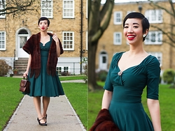 Nora Finds - Collectif Clothing Trixie Doll Dress - Winter Collectif