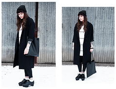 Sabina Olson - Monki Coat, & Other Stories Shoes, Home Made Bag - Over my dead body #150