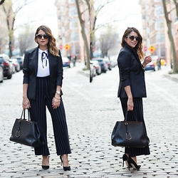 Olivia J -  - Work Wear: Stripes