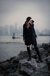 Raquel Paiva - Marni Boots, All Saints Coat - Feeling Strong