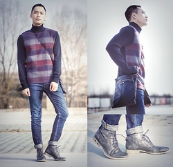 Chris Su - Jil Sander Sweater, Balenciaga Bag, Diesel Shoes - A Day Out
