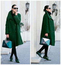 Veronica P - Marni Shoes, Fendi Bag - Go Green!