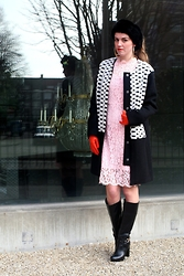Michelle Verpuggi - Storm & Marie Coat, Chicwish Dress, Gucci Boots - Never stop