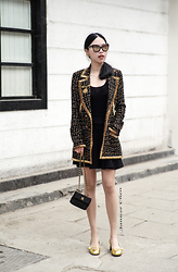 Janicee Chen - Chanel All, Gucci Shoes - It's About Vintage Chanel
