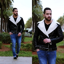 Nabil Asserghine - Jacket, Leather - S I M P L Y