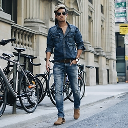 Alexander Liang -  - Denim on Denim