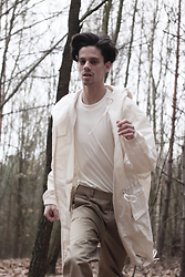 Martin Tichy - H&M Cotton Tee, H&M Raincoat, H&M Cropped Pants - IN THE WOODS pt2