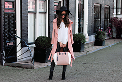 Stephanie Abu-Sbeih - Coat, Shoes, Blouse - Spring Fever