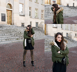 Mirella Szymoniak -  - How to wear a parka jacket?