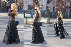 Federova Kik - Choies Dress, Sammydress Bag, Stradivarius Jacket - The witches wearing black