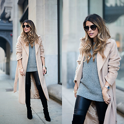 Pam Hetlinger - Missguided Camel Coat - 10 Amazing Camel Coats