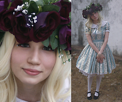 Magical Jillian - Handmade Flowery Crown By Me - Flower in the Garden