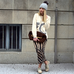 The Blonde Bliss - Miu Bag, Kenzo Sweater, More Details On - Spring can you hear me?!