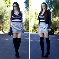 Laura Yazdi -  - Thigh High Boots