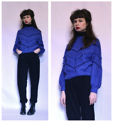 Sasha Karolik -  - Blue Sweater