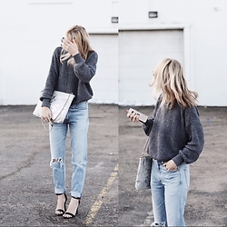 Lauren - Citizens Of Humanity Liya Jeans, Leoluca Handbags Nah - Blue jean baby, LA lady