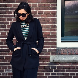 I-lin Tasoz - We Jacket, H&M Top, Jewelry By Mellola Necklace, Asos Sunnies - DRESS UP THURSDAY