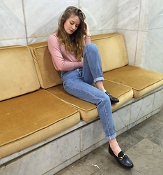 PATINESS - Instagram, Blog - Mom jeans