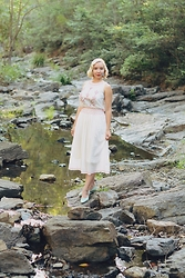 Harlow Darling - The Deco Haus Dress, Bait Footwear Shoes - à la russe