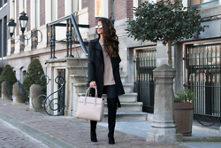 Stephanie Abu-Sbeih - Tigha Coat, Asos Boots, Paul's Boutique Bag - Sunny Days