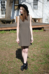 Megan Brigance - Plaid Panda Vintage 90s Dress - 206