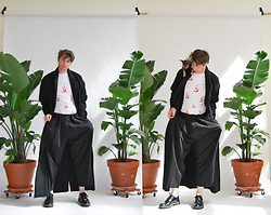 Matthew Reinhold - Marni Shoes, Charles Youssef Pants, Gosha Rubchinskiy Shirt, Artur Lomakin Jacket - Between 2 Palms