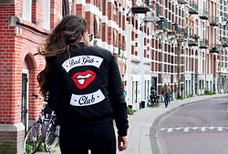 Stephanie Abu-Sbeih - Colourful Rebel Jacket - Bad Girls Club