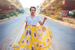 Nilu Yuleena Thapa - Chic Wish Floral Maxi Skirt - Best of You