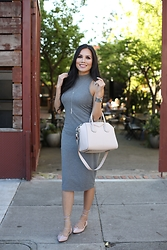 Rachel Vogt - Kitandace Dress, Givenchy Bag, Nordstrom Flat - Reveal and Conceal