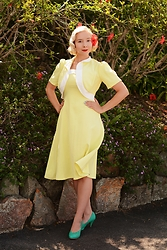 Harlow Darling - Emmy Nilson Dress, B.A.I.T Shoes - Shoo, shoo, shoo baby!