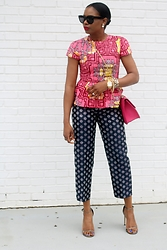Monica Awe-Etuk -  - AWED BY MONICA: MIXING PRINTS IN PINK