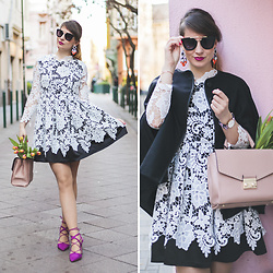 Dorka L. - Daniel Wellington Watch, Sheinside Dress, Zara Bag, Zara Shoes - Lace it up!