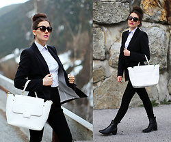 Panda Mone - Just Cavalli Bag - SUITED UP!