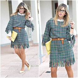 Ma Petite By Ana - Romwe Dress - Tweed