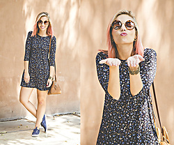 Didi Ibarra Rake - Pull & Bear Dress, Keds Sneakers, Michael Kors Handbag - We Are The Champions